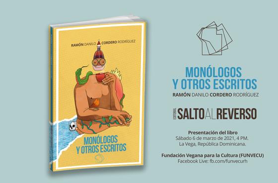 Próxima presentación de libro «Monólogos y otros escritos»