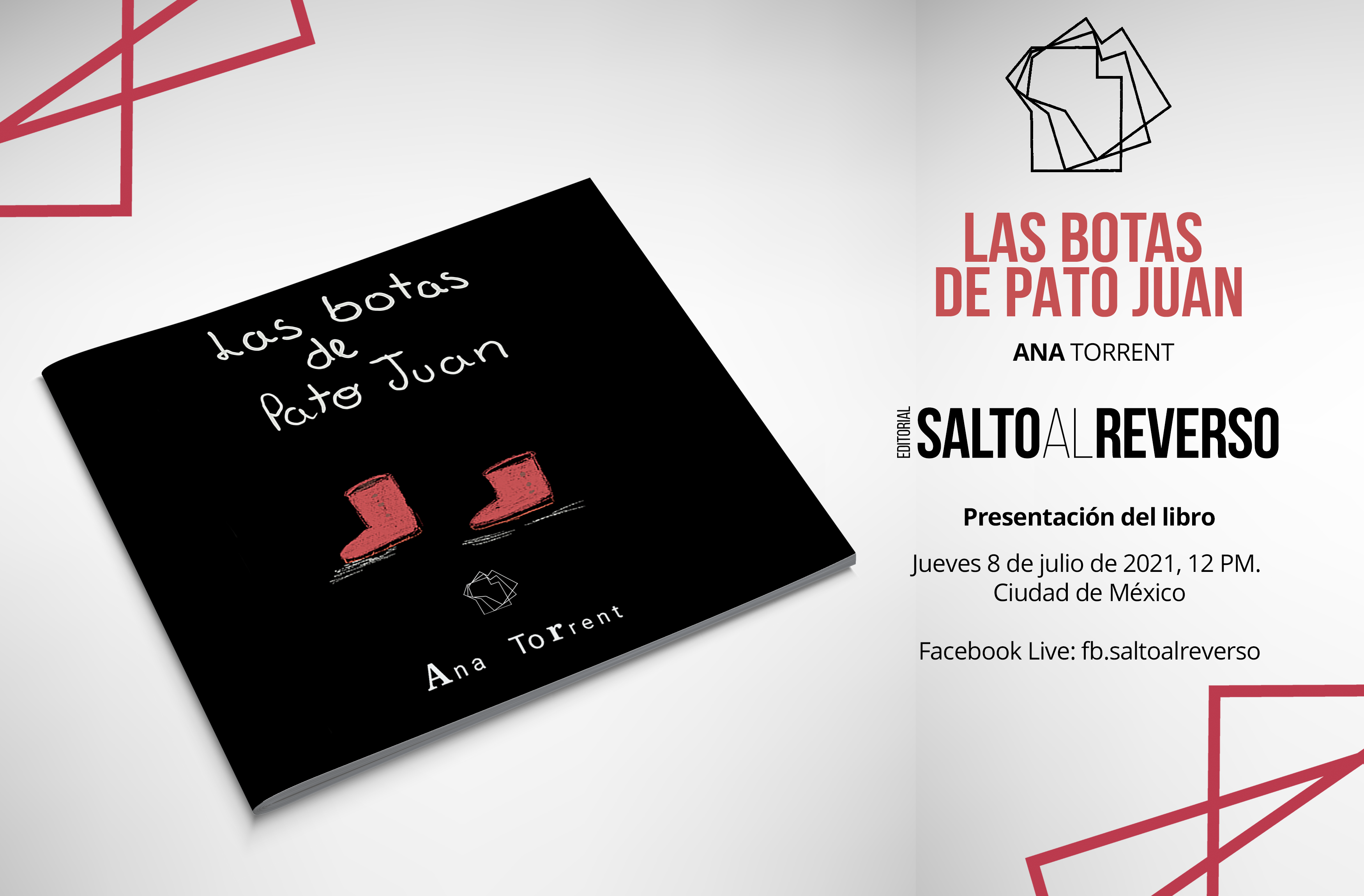 Próxima presentación del libro «Las botas de Pato Juan»