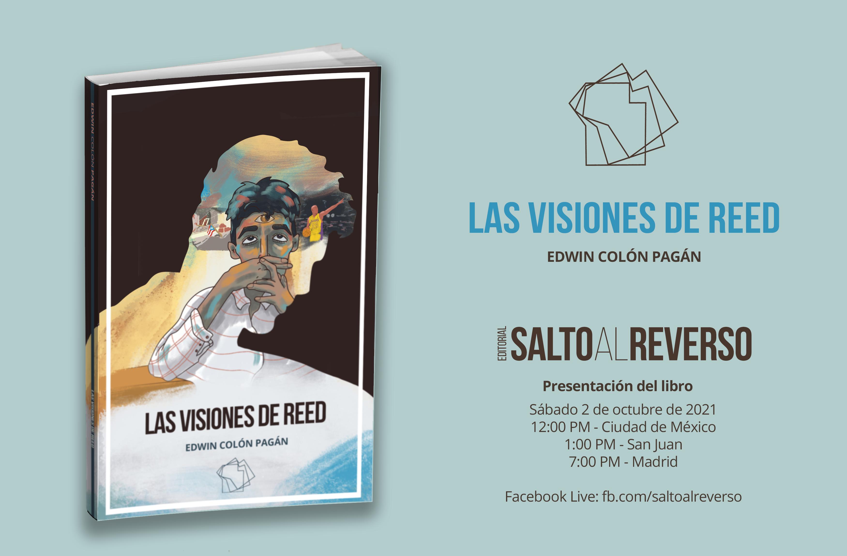 Próxima presentación del libro «Las visiones de Reed»